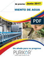 Tratamiento de Aguas ALTAMIRA WATER 2017