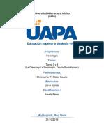 Tarea 3 y 4, Sociología UAPA