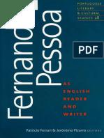 Fernando Pessoa - An English Reader and Writer