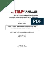 Tesis ALAS Peruanas
