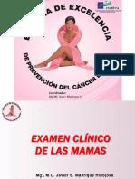 Examen Clinico de Las Mamas