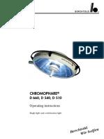 Berchtold Chromophare D-510,540,660 - User Manual