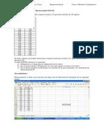 Manual Regresión Excel curso de Métodos cuantitativos