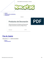 PAN DE JAMÓN ? Receta Venezolana - Javi Recetas