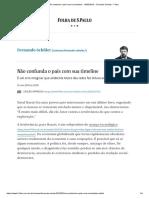 Não Confunda o País Com Sua Timeline - 16-05-2019 - Fernando Schuler - Folha