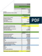 Lpq Maderas Presupuesto
