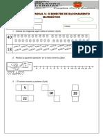 Evaluación Mensual IV de Rm y Rv Setiembre