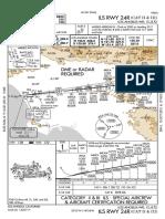 FlightAware LAX IAP All