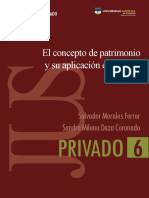 El Concepto de Patrimonio y Su Aplicacion en Espana