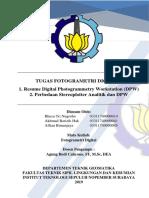 Resume DPW dan Stereoplotter Analitik