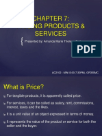 CHAPTER 7 - REPORTER NO. 1 (PRICING PRODUCTS AND SERVICES).pptx