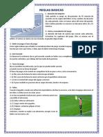 Reglas Basicas Del Futbol