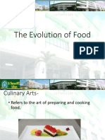 Evolution of Food