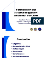 Form Sistema Gestion Ambiental Cioh