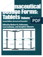 Pharmaceutical Dosage Forms Tablets, Vol. 3