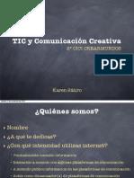 dbfd847d1 TIC y Comunicación Creativa (CICI II)