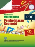 SD MTMTK Paket 3 Pembelajaran Geometri TTD