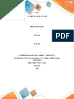 PLANIFICACIÓN Y ANÁLISIS FASE 2