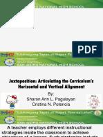 Horizontal and Vertical Curriculum Alignment