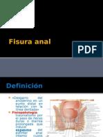 fisura y fístula