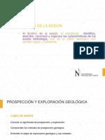 9.- Propección y Exploración Geológica