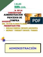 Administracion y Proceso de Compras