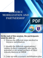 Resource Mobilization and Partnership