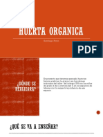 HUERTA ORGANICA Seminario Proyecto