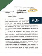 1995-Feb 21 D.A.  Affidavit for Domestic Violence (Conviction) Case No. 94-CR-836 Hal Richardson- Dom Brow Ski