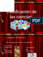 Clasificación de Las Ciencias2
