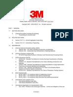 E-Mat Applied Fireproofi Spec Structural Steel 07-81-00 3m