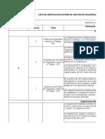 Lista de Verificacion Decreto 1443 de 2014