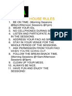 House Rules - Copy