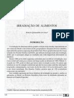 Irradiação de Alimentos - Revista Militar e Ciencia