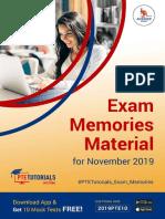 Free PTE-A Exam Memories Material