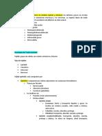 Resumen histología