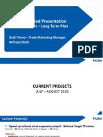 Trade Marketing Presentation