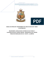 01 Manual de Operc. y Mant Agua Potable