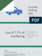 AnupServiceMarketingFind Me Parking AppPPT