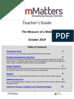 Measure of a Mole Tg