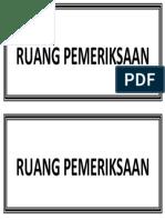 Nama Ruangan 2