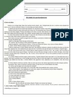 Atividade de Revisão Portugues - Conto