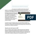 Opcion de Financiamiento Pnf