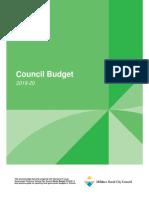 Community Budget