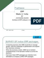 Indian ERP.