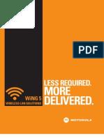 Motorola WiNG 5 WLAN Brochure