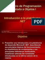 Unidad 1-Introducción a La Plataforma .NET