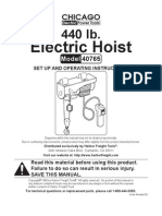 Electric Hoist 40765