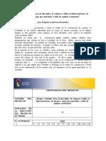 Seminario de Investigacion . Grupo 3 _ Resumen y Cronograma