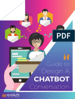 eBook Guide to Design a Chatbot Conversation